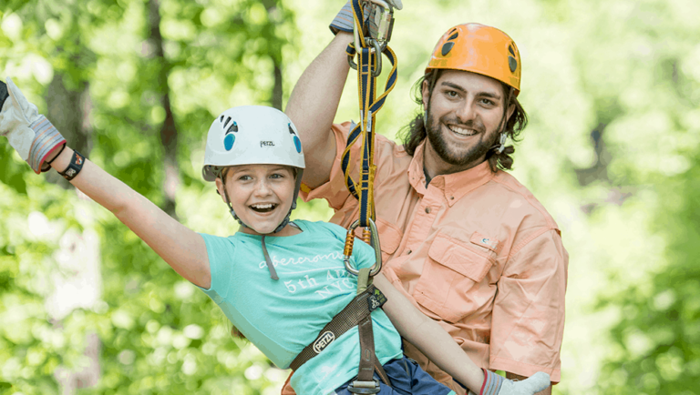Adventure Park Ziplines are Fun for all Ages!