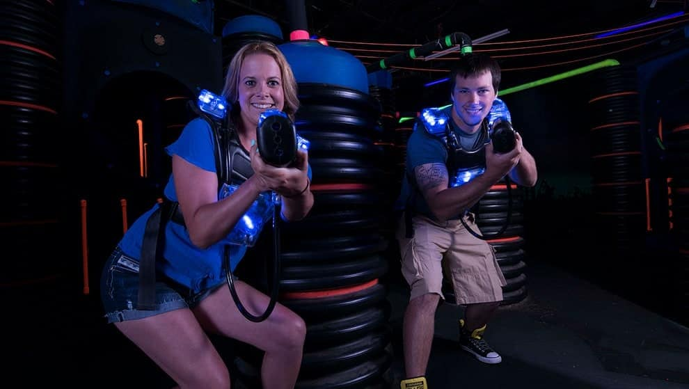 Laser tag is fun for all ages