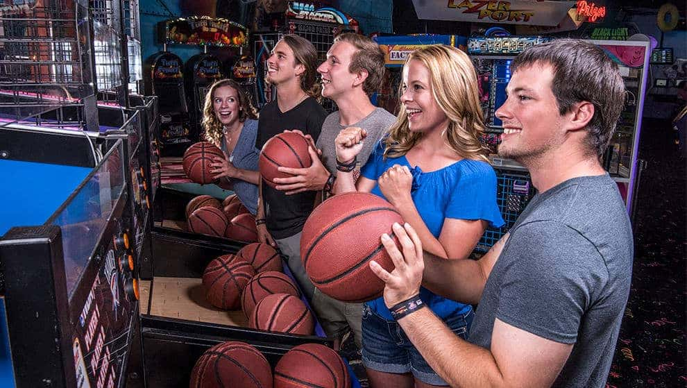 Our 10,000 square foot arcade has games to play and prizes to win for people of all ages.