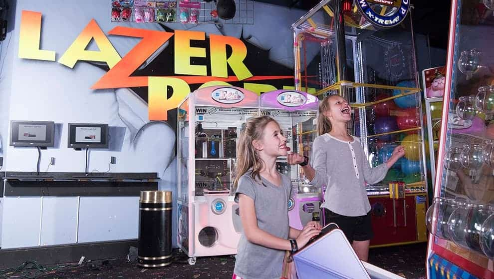 The LazerPort Arcade in Pigeon Forge is fun for all ages