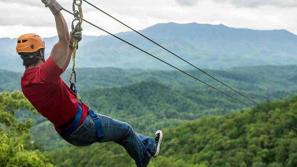 See the Smoky Mountains from 500 feet above the ground for a view that simply does not compare to anything else.