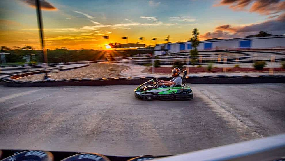 Race the fastest go-karts in pigeon forge