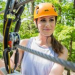 Zip right off the parkway in Pigeon Forge with Dubby's Adventure Park Ziplines