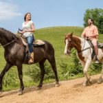 Horseback riding tours in the Smoky Mountains