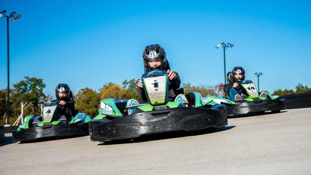 Race go-karts