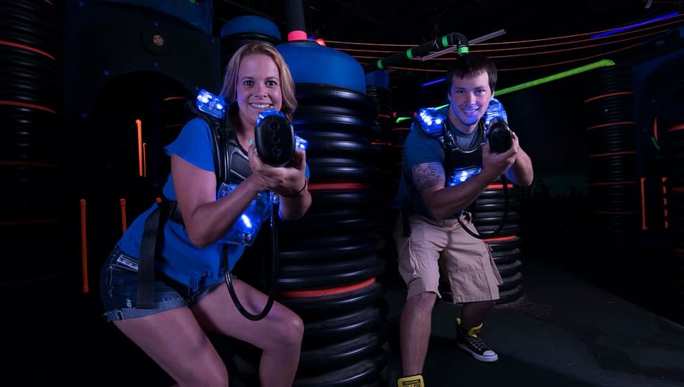 Laser Tag at LazerPort Fun Center